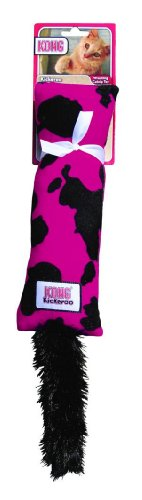 Kong Cat Kickeroo Cow - Catnip Wrestling Toy