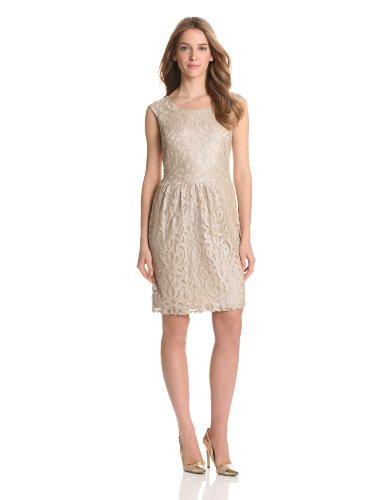 Tiana B Womens Boatneck Lace Dress