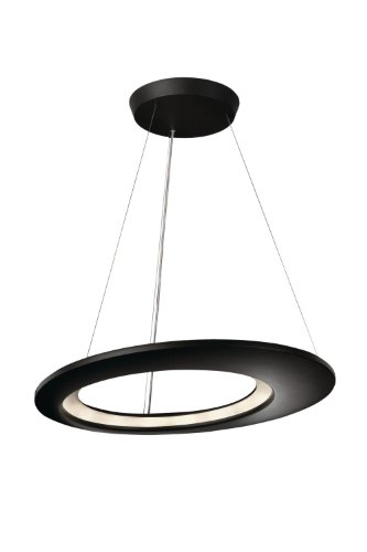 Philips 407559348 Ecliptic Pendant, Anthracite Philips B00BGMI558