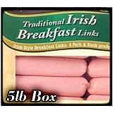 Traditional Irish Breakfast Links. 5lb