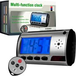 Amzdeal Spy Digital Alarm Clock DVR with Motion Detector (Tf Card Not Included) - Electronics