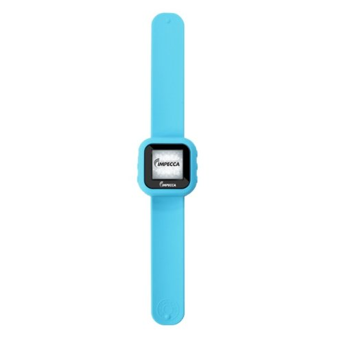 NOFKMJ Impecca MP3 Player Slap Watch with 1.5-Inch Color Display with Built-in Pedometer that measures your Steps and Calculates Distan