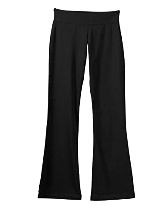 Womens Cotton Spandex Fitness Yoga Pant - Black 810 Small