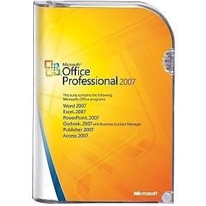 Microsoft Office Professional Plus 2007 - Full Version