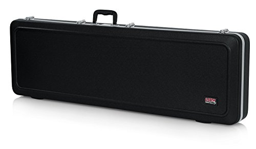 Gator Cases Deluxe ABS Bass Guitar Case (Plastic)