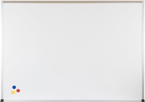 BestRite 4 x 8 Feet ABC Porcelain Markerboard, Map Rail (2H2NH-M)