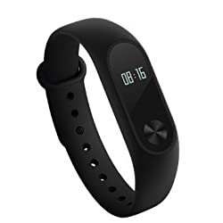 ShopAIS Ftneiss Tracker & Heart Rate Monitor, Smart Bracelet Pedometer Bluetooth 4.0 Smart Watches Tracking Calorie Health Sleep Monitor Life Fitness Band with Soft Silicon Wristband for Xiaomi Mi Max