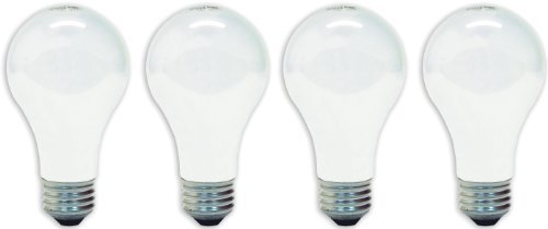 GE Lighting 48308 60-Watt 780-Lumen A19 Double Life Light Bulb, Soft White, 4-Pack Style: 60 Watt Size: 1.8 years Model: 48308 Tools & Home Improvement