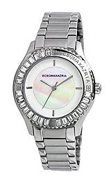 BCBGMAXAZRIA Crystal Collection VIP Glam White Dial Women's watch #BG8270