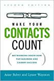 img - for Make Your Contacts Count 2nd (second) edition Text Only book / textbook / text book