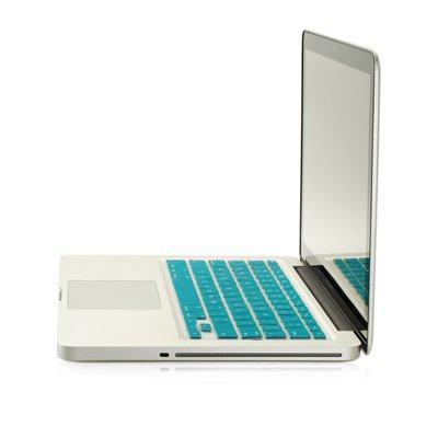TopCase® AQUA BLUE Keyboard Silicone Cover Skin