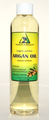Argan Oil Moroccan Marrakesh Organic Carrier Cold Pressed Pure Hair Oil 8 oz