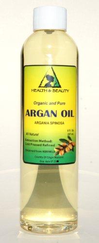 Argan Oil Moroccan Marrakesh Organic Carrier Cold Pressed Pure Hair Oil 8 oz
