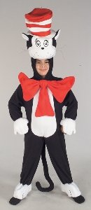 Cat In Hat Deluxe Costume Size Toddler