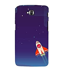 printtech Rocket Meme Sky Back Case Cover for LG GPro Lite / LG G Pro Lite Dual D686