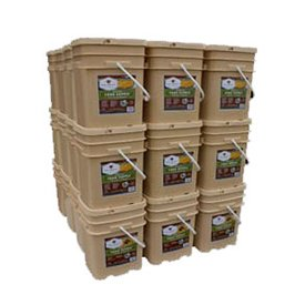 Long Term Food Storage - 4320 Servings - 12 Month Supply - Entrees & Breakfast