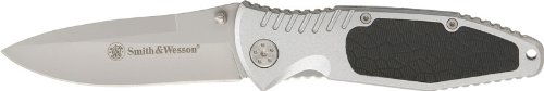 Smith & Wesson CH0015 Linerlock Drop Point Blade with Insertable Aluminum Handle with Pocket Clip