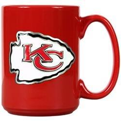 Kansas City Chiefs Red Ceramic Mug