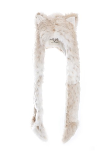 MGWG8IT Authentic Snow Leopard Full Hood by Spirithoods