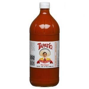 Tapatio Salsa Picante Hot Sauce 32 Oz 12 Pack from Tapatio