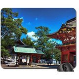 shrine gate and grounds hdr Mouse Pad, Mousepad (Religious Mouse Pad)
