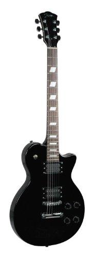 Johnson Js-900-B Solara Standard Electric Guitar, Black