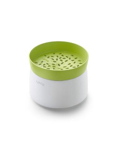 Lékué 0200700V06M017 Cuisinière pour Riz Plastique Vert/Blanc 45 x 35 x 25 cm