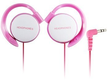 Ath-Eq500 16-24 Khz Wired Sport Clips Headphones (Pink)
