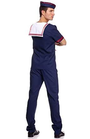 Ahoy Matie Mens Sailor Costume - XLARGE