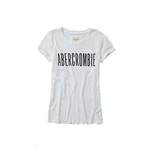 abercrombie-fitch-da-donna-con-logo-in-bianco-nuova-collezione-white-x-small