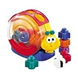 Fisher Price Brilliant Basics Musical Snail Pail Shape Sorter