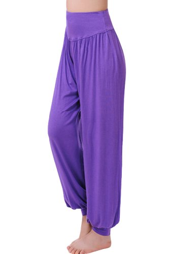 reine--la-mode-Yoga-Bloomer-Pantalon-de-Femme-de-Danse-Pantalon-Belly-Dance-Pant-Harem-Yoga
