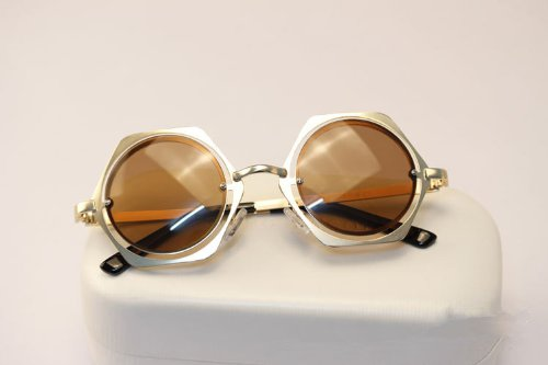 a52c1846d092 Vintage Steam Punk Tops Women Round Designer and Unique Glasses Metal Frame Fashion  Metal Sunglasses New