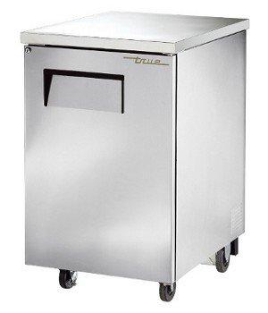 """True TBB-1-S Back Bar Cooler 24"""" 1 Section 1 Solid Door"""