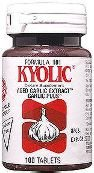 Kyolic - Garlic Formula 101 Energy Formula With Brewers Yeast - 100 Tablets, 6 Pack (Image may vary)