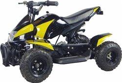 350 Watt Gobi Electric Ride On Mini Quad Sport Atv For Kids, Yellow