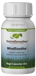 Mindsoothe 60 Vegetarian Capsules by Native Remedies