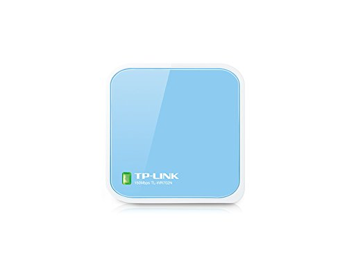 TP-LINK TL-WR702N Wireless N150 Travel Router, Nano Size, Router/AP/Client/Bridge/Repeater Modes, 150Mbps, USB Powered