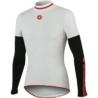 Buy Low Price Castelli 2012/13 Feroce Midweight Long Sleeve Cycling Base Layer – A11530 (B005K4DVOS)