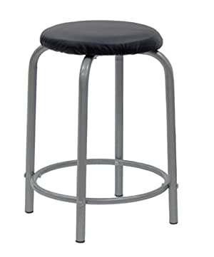 STUDIO DESIGNS Comet Center with Stool Silver / Black 13325
