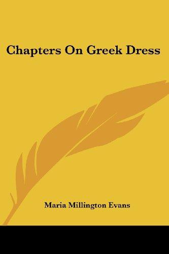 Chapters On Greek Dress