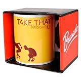 Boxed Official Take That Mug, Progress Album Cover