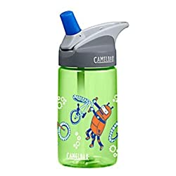 Camelbak 2014 Kid's Eddy Water Bottle w/ Bite Valve & Straw - BPA FREE - 12oz/.4L
