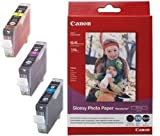 CANON CLI-8 Pack - Ink cartridges in cyan, magenta, yellow + 4