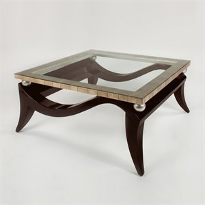 Artmax 3846-CF Coffee Table, Silverleaf (B005PNDGK8)
