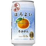 【冬限定】サントリーチューハイ ほろよい 冬みかん 350ml×24缶(1ケース)