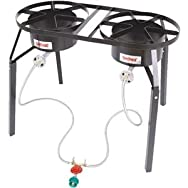 Barbour International DB250 Dual Burner Outdoor Cooker-DUAL BURNER COOKER