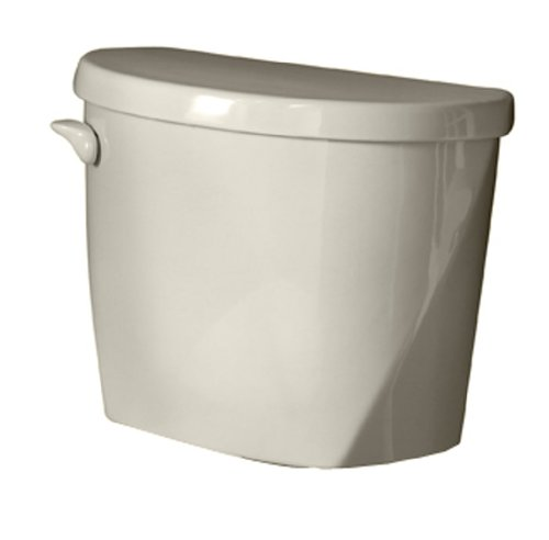American Standard 4061.016.222 Evolution 2 Right Height Elongated Toilet Tank Only with Coupling Components and Tank Trim, Linen (Tank Only)