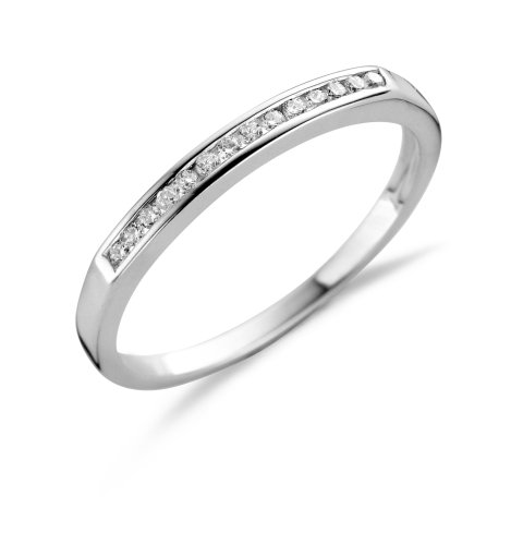 Eternity Ring, 18ct White Gold, Diamond Channel