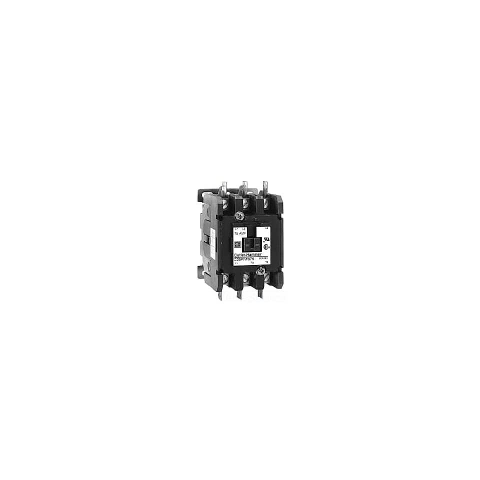 Quick Connect Side By Side Terminals 120VAC Coil Voltage 30A Current Rating Screw//Pressure Plate Eaton C25DND330A Definite Purpose Contactor 3 Poles 10 Max HP Three Phase at 230V 50mm 15 Max HP Three Phase at 480V 2 Max HP Single Phase at 115V